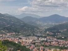 La valle Petronio e sullo sfondo il monte Zatta