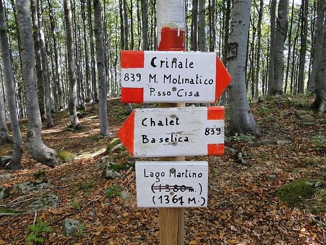 Monte Molinatico CAI sept