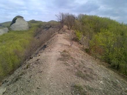 Vista sulla cresta Facile