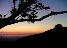 tramonto sulle creste