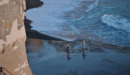 Giochi d'acqua a Camogli