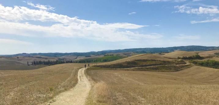 Via Francigena fra San Miniato e Gambassi Terme