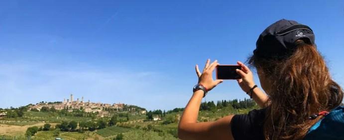 Vista di San Gimignano