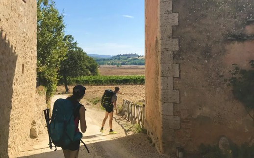 In vista di Monteriggioni