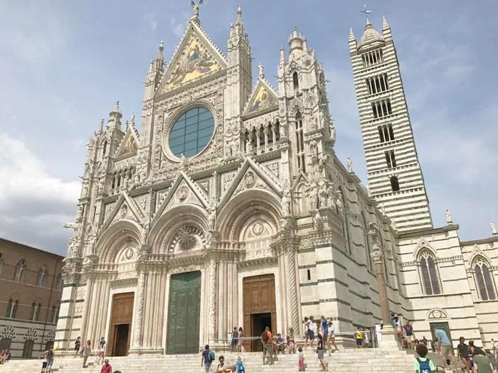 La cattedrale di Siena