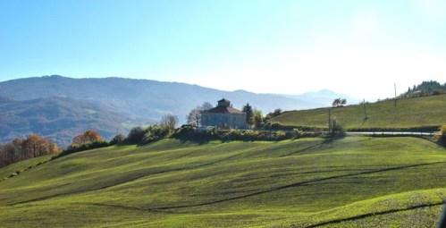 Casa cantoniera di Monte Marino - strada della Cisa