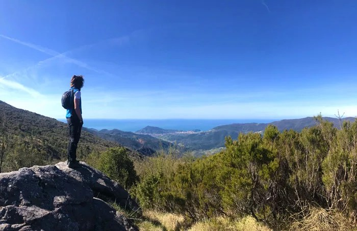 le Baie di Sestri Levante viste dal sentiero