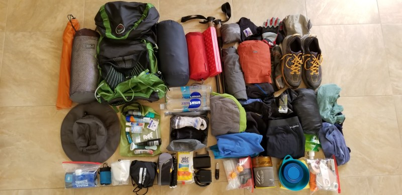 Use It or Lose It: Preparing Our Gear for Trekking the U.S. West