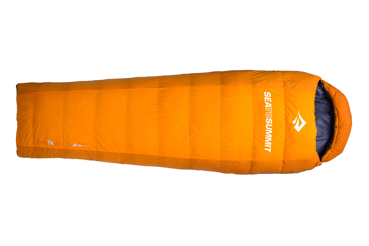 Test Sea To Summit Trek 3 Avis Sac De Couchage