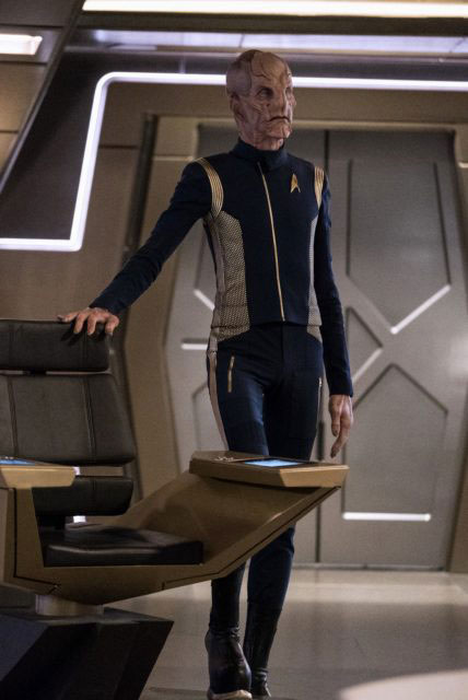 Doug Jones as Lt Saru  TREKNEWSNET