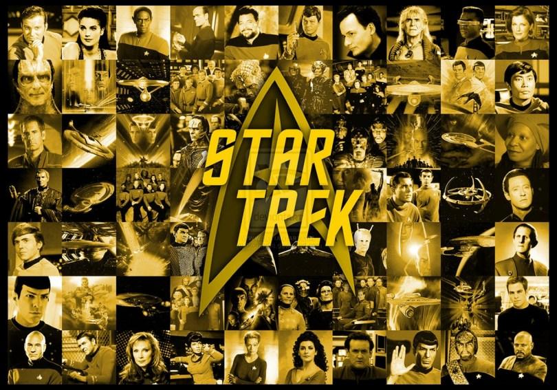 Image result for star trek collage