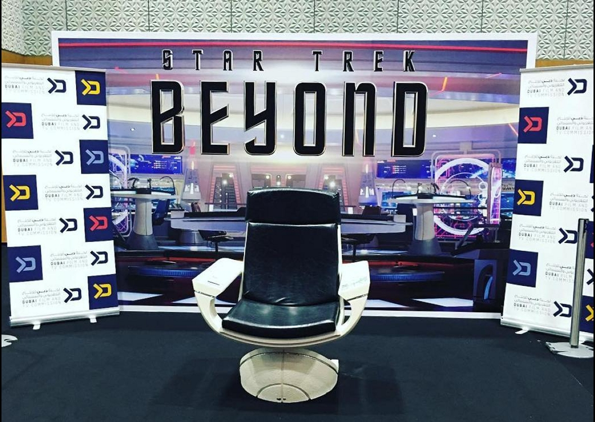 behind the chair promo codes hammock with stand star trek weekly pic daily 2737 beyond