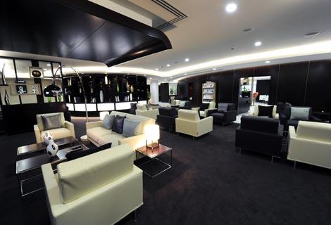 Etihad Lounge Heathrow