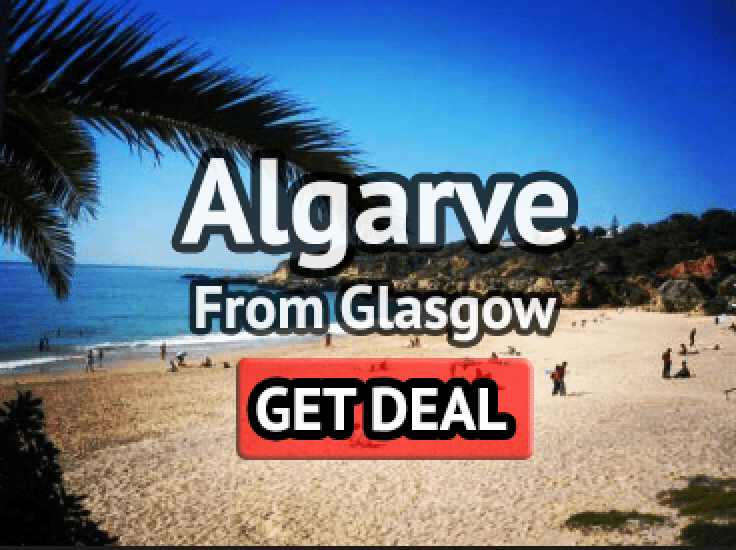 Algarve summer holiday from Glasgow