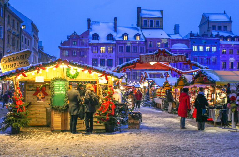 luxury christmas market