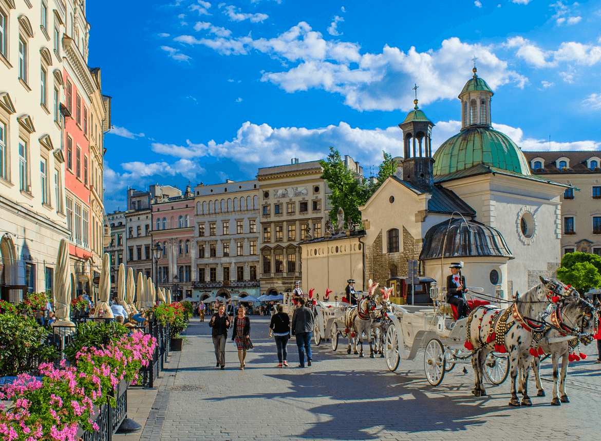 Krakow city break £75pp