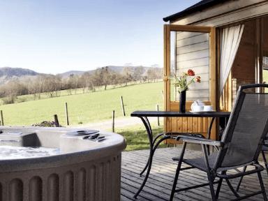 Luxury Scottish Woodland Lodge