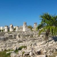 Mayan Columns
