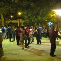 Salsa Dancing in the park