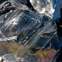 Obsidian Close Up