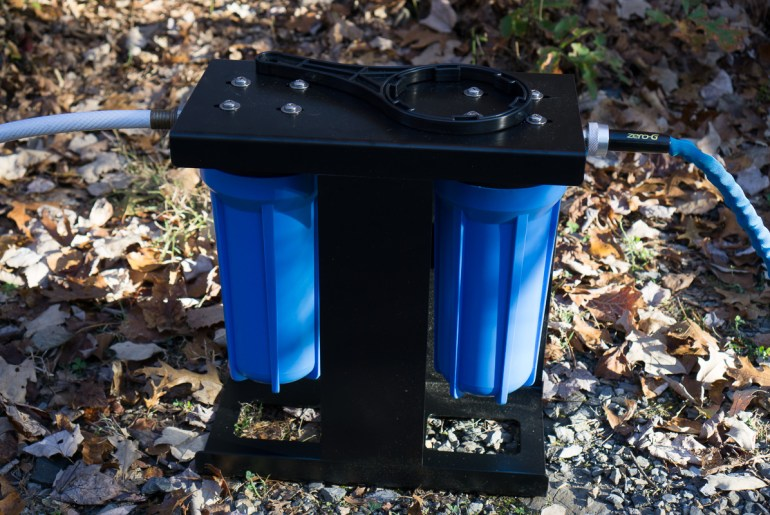Clearsource 2-Canister System in Use