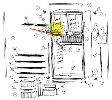Norcold Rv Refrigerator 4 Door Norcold Refrigerator Parts