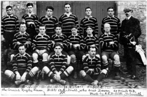 Cornish Rugby Team 201908