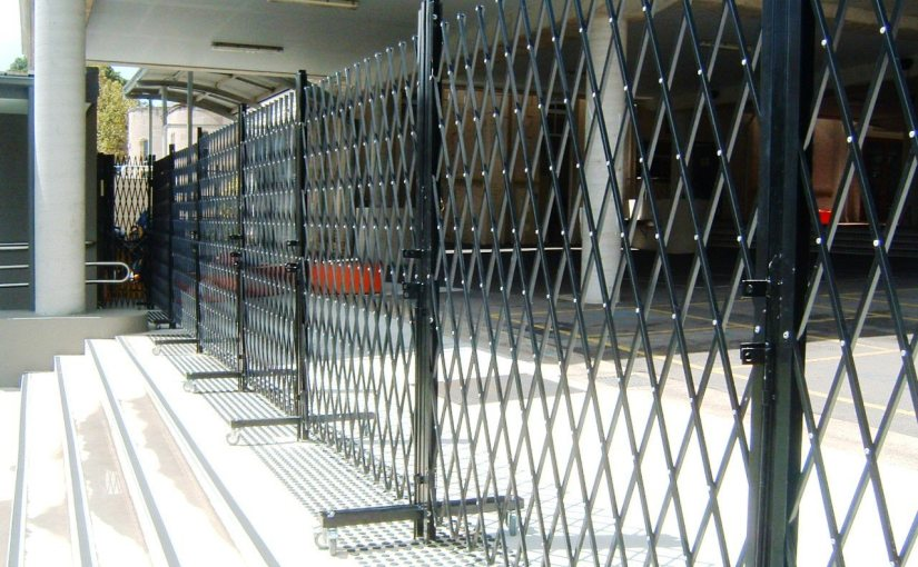 Portable Barrier Passes Temporary Fencing Tests
