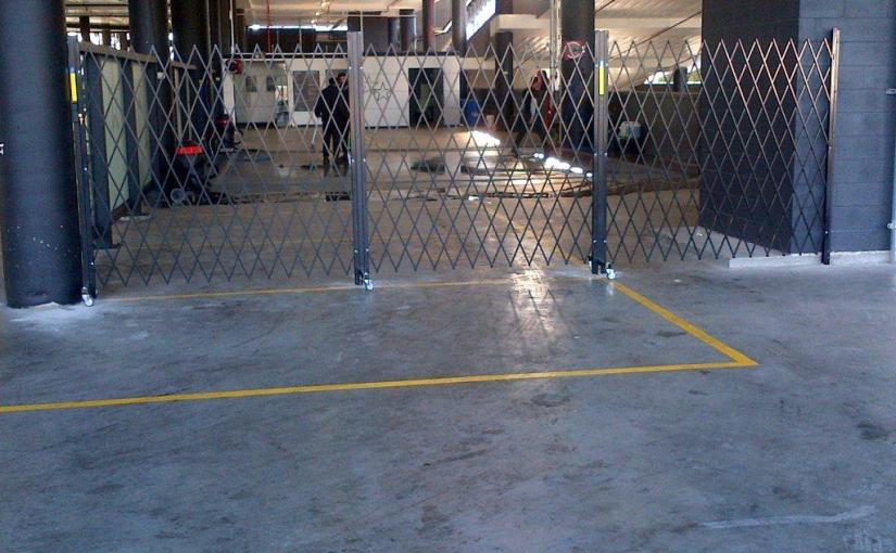 Retractable Security Barrier Secures Star Carwash
