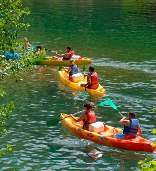 Kayak canoe - Mont Tremblant