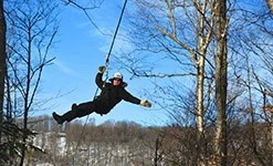 Zipline & Aerial Games Winter