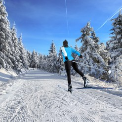 Cross-country skiing - Mont Tremblant