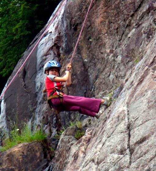 Kid Rock Climbing - Mont-Tremblant