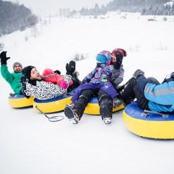 Snow tubing - Tremblant