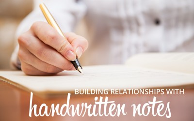 How to build relationships with handwritten notes