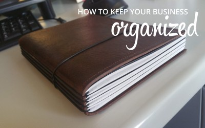 How I organize my daily business life
