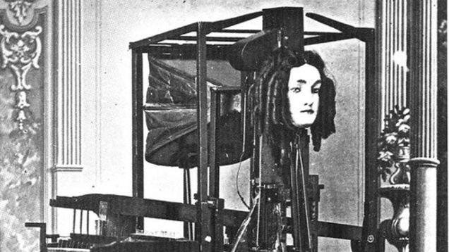 The Mechanical Talking Head: An Early Speech Synthesiser
