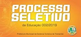 Processo Seletivo Simplificado Nº 02/2019 – Edital de Convocação