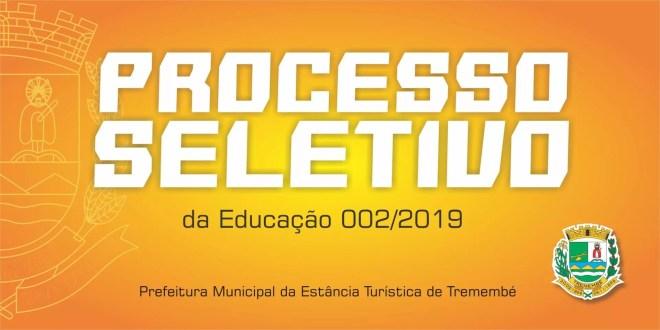 Processo Seletivo 002/2019: Edital de divulgação de recursos de notas das provas objetivas, classificação e outros