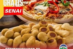 Inscrições abertas para Curso de Confeccionador de Pizzas e Salgados (SENAI)