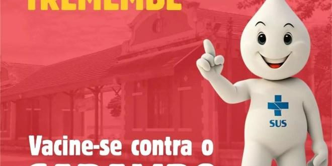 Campanha contra o Sarampo acontece até sexta-feira (25)