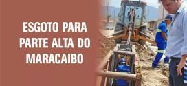 Saneamento: Prefeito Vaqueli anuncia instalação do esgoto na parte alta do Maracaibo