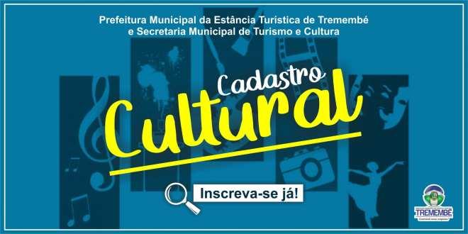 Cadastro Cultural – Lei Aldir Blanc