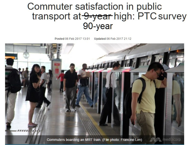 Fake news: MRT operator confirms Pubic Transport Council...