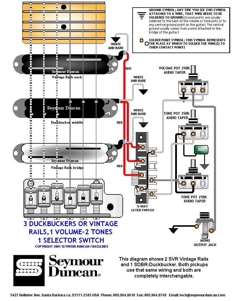 Duncan Performer Wiring Diagram Jackson Dinky Nice Seymour Chart Images Electrical And Rh