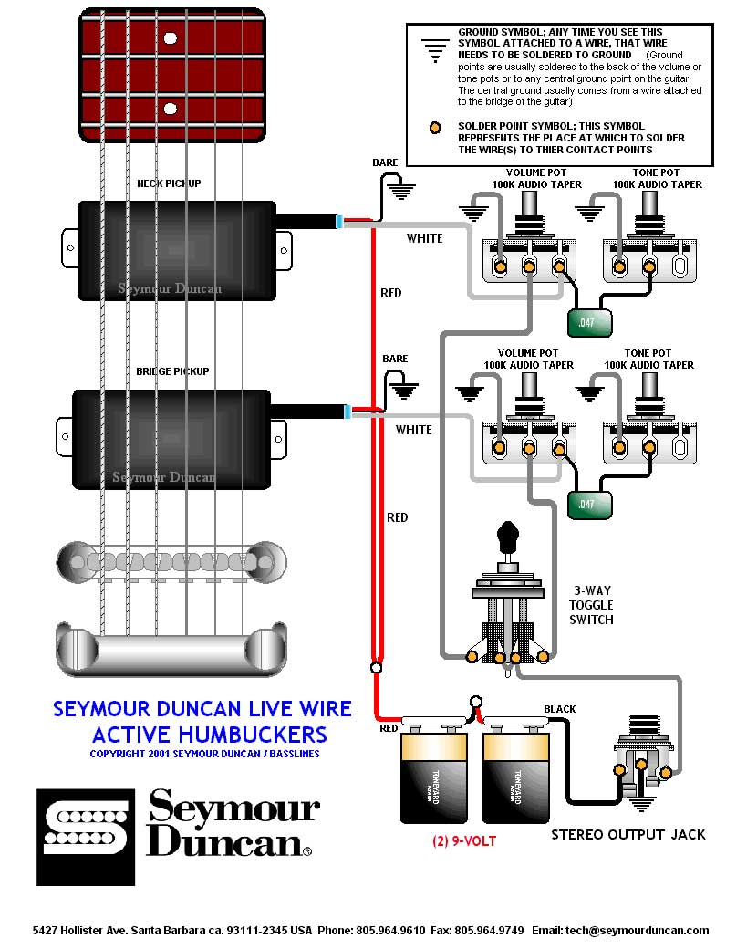 hight resolution of  emg hz h4 manual emg hz wiring schematic on emg ab wiring emg bass pickup