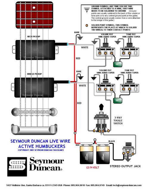 small resolution of  emg hz h4 manual emg hz wiring schematic on emg ab wiring emg bass pickup