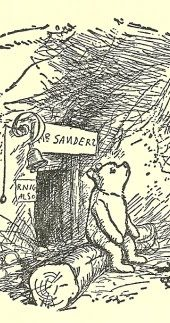 Winnie the Pooh Lived Under the name of Sanders