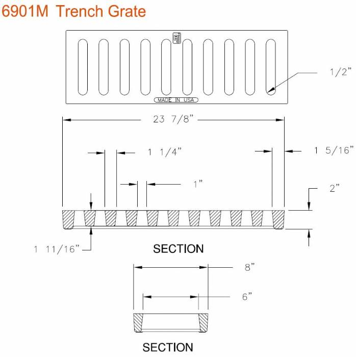Shower Trench Drain Detail Related Keywords