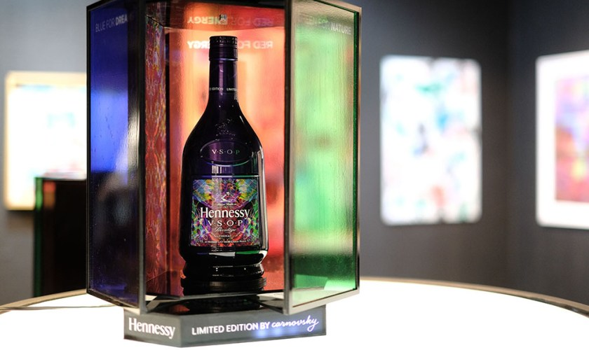 Hennessy V.S.O.P Privilège Limited Edition Celebrates the Arts with Layered Harmonies by Carnovsky